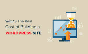 cost of a building how much does it cost to build a wordpress website 2018