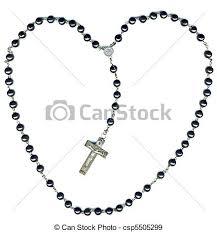 christian rosary rosary jesus you heart shaped christian rosary stock