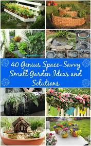 Garden Diy Crafts - 40 genius space savvy small garden ideas and solutions diy crafts