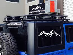 Smittybuilt Roof Rack by Defender Jeep Jk One Piece Roof Rack