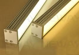 linear led sign lighting linear suspension led government building aluminum ceiling light