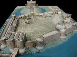Medieval Castle Floor Plan Castle Layout Wargaming Pinterest Castles Medieval Castle