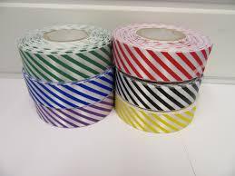black and white striped ribbon candy stripe ribbon black and white 2 metres or 20 metre roll
