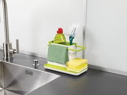 Joseph Joseph Sink Caddy Kitchen Soap And Sponge Holder Dark - Kitchen sink sponge holder