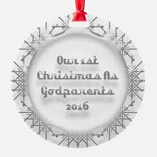 godparents ornament cafepress