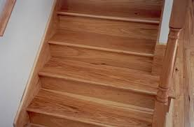 hickory stair treads risers prefinished and unfinished buy