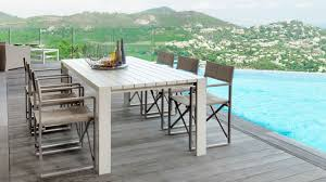 Textilene Patio Furniture by Contemporary Chair Textilene Aluminum With Armrests Chic