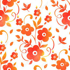 flowers seamless pattern element vector background vector watercolor flower seamless pattern element elegant texture