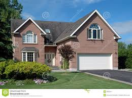 contemporary suburban house stock images image 900564 royalty free stock photo