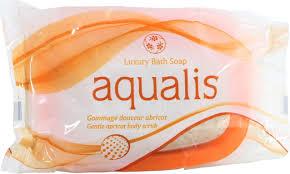 aqualis luxury bath soap 120g