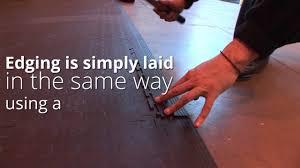 Interlocking Laminate Floor Tiles Tough Lock Eco Interlocking Floor Tiles Youtube