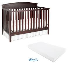 How To Convert Graco Crib To Full Size Bed by Graco Benton 5 In 1 Convertible Crib With Bonus Mattress