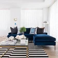 Blue Sofa Living Room Design by Best 25 Striped Sofa Ideas On Pinterest Striped Couch Blue