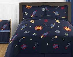 space galaxy comforter set 3 piece full queen size by sweet jojo