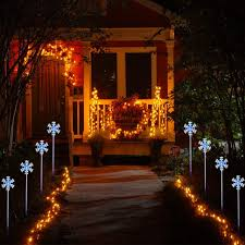 Portfolio Light Parts by Peppermint Pathway Lights Christmas Light Brackets Universal Solar