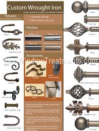 Metal Double Traverse Curtain Rod by Custom Metal Curtain Rod Sets Bestwindowtreatments Com