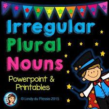 60 best english nouns images on pinterest grammar irregular