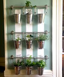 indoor wall garden hanging indoor herb garden