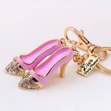 fashion key rings images Fashion beautiful pair laduree keychain macaron enamel high heeled jpg