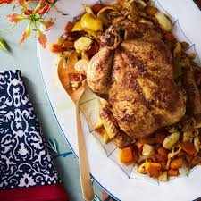 ina garten curry chicken salad dinner roasted curry chicken with vegetables from the garden