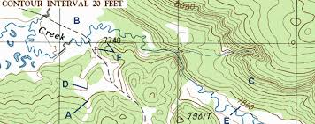how to read topographic maps topo tips