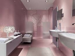 bathroom wall decorations ideas bathroom pink and blue tile bathroom decorating idea grey walls