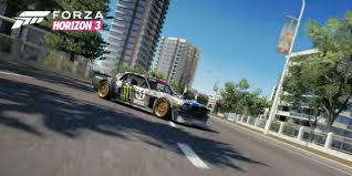 hoonigan mustang hoonigan car pack coming to forza games ford authority