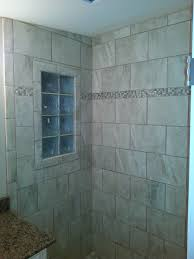 Bathroom Shower Windows by Another Custom Tile Bathroom Landmark Contractors