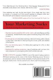 Marketing Advisor Your Marketing See Details Inside Mark Stevens