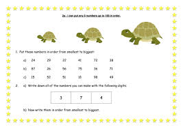 ordering 2 digit numbers by kavanagh k teaching resources tes