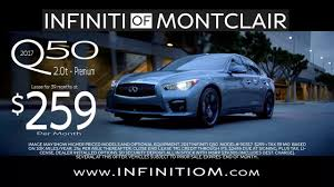 nissan canada lease return infiniti of montclair lease return center youtube