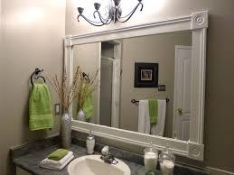 bathroom cabinets framing bathroom mirror ideas how to frame a