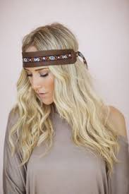leather headband vintage leather headband accessories headbands leather headband