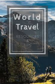Round The World Travel Planning Resources