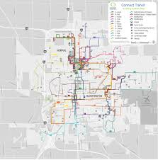 Heartland Community College Map Road Not Taken Connect Transit Looks At Route Cuts Local News