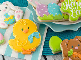 Easter Lamb Cake Decorating Ideas by How To Make Easter Cookies Semi Sweet Designs