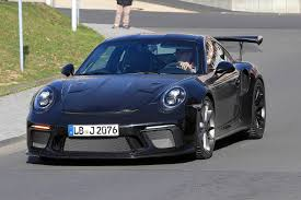new porsche 2019 2019 porsche 911 gt3 rs u00274 2 u0027 latest spy shots gtspirit