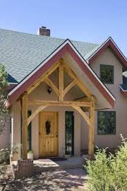 Hamill Creek Timber Homes Sugarloaf Timber Frame Entry The Log Home Neighborhood Cabins And