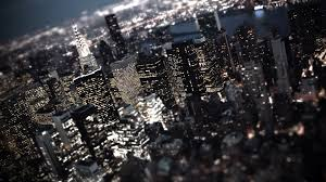 New York City Wallpapers For Your Desktop by Tilt Shift New York City Night Lights Desktop Wallpaper Free Hd