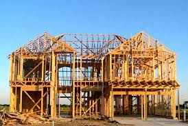 building new house building a new house building new home with natural gas creative