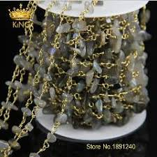 diy rosary colorful spinel rosary style beaded chain gold plated wire wrapped