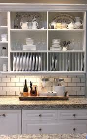 Kitchen Cabinets Open Shelving Best 25 Cabinet Plate Rack Ideas On Pinterest Kitchen Racks And