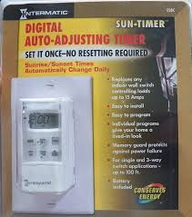 Intermatic 15 Amp Plug In by Intermatic Digital Auto Adjusting Timer Ss8c Amazon Com