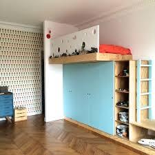 chambre enfant sur mesure 245m2 rénovés à mezzanine sur mesure contemporain