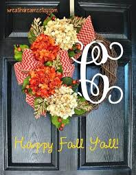monogram wreath fall burlap wreath ideas burlap fall wreath tutorial