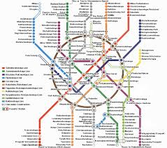 Moscow Map Map Of The Moscow Metro System