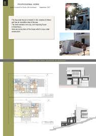 house project professional architect portfolio ideas