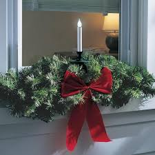 Decorating Outside Window Christmas Wreaths by 26 Best Window Holiday Decor Images On Pinterest Christmas Ideas