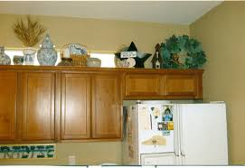 Above Kitchen Cabinet Decorations Kitchen How To Decorate A Kitchen Decorating Above Kitchen