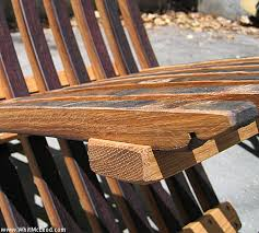Wine Barrel Patio Table Wine Barrel Patio Furniture Refined Rustic Furniture